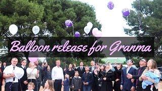 BALLOON RELEASE FOR GRANMA | VLOG | GRANGER TRIBE
