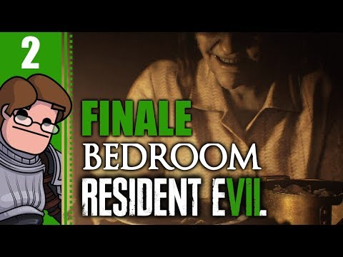 Let's Play Resident Evil 7: Bedroom Part 2 FINALE - Bit of a Snake Fixation