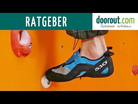 Kletterschuhe Ratgeber - DAV Kletterzentrum Fulda - Anfänger bis Fortgeschritten