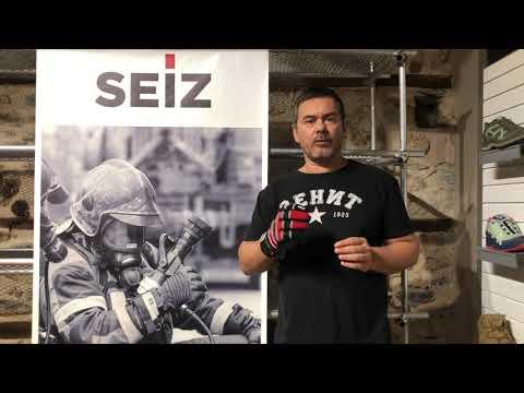 Παρουσίαση των γαντιών πυροσβέστη SEIZ Extrication