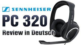 Sennheiser Headset PC320 Review [German]