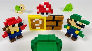 Super Mario PIXEL Magnetic World
