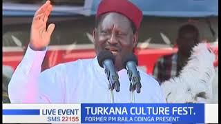 Witty Raila Odinga narrates Swahili life cycle; how it got a flu while in Kenya, dying in Uganda