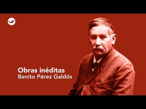 Benito Pérez Galdós, obras inéditas por Alberto Ghiraldo para editorial Renacimiento