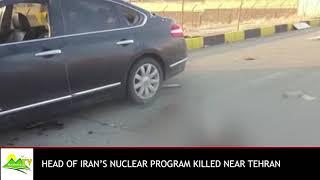 Iran's nuclear scientist killed