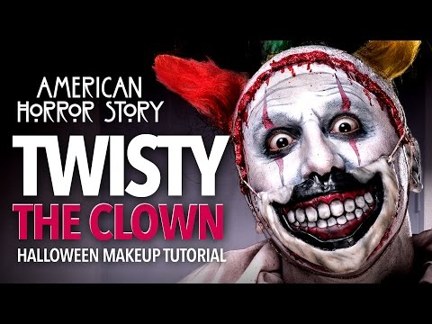 Twisty The Clown Halloween Makeup Tutorial  (AHS)