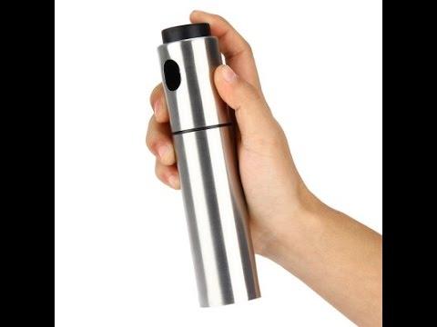 Compras por Internet, Pulverizador de Aceite de Acero Inoxidable (GearBest)