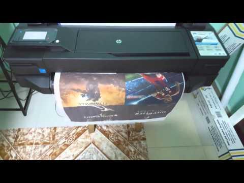 Impresión de banner en  HP Designjet T120