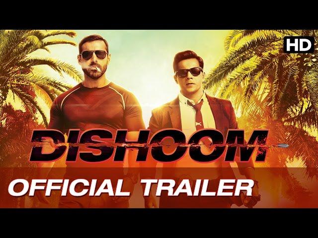 Dishoom Official Trailer| Latest Hindi Movie 2016 | John Abraham, Varun Dhawan, Jacqueline Fernandez