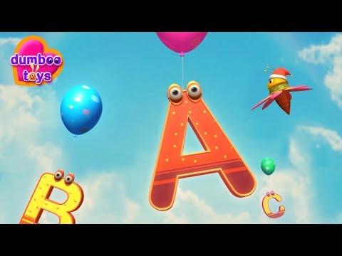 ABC Song / ABCD Alphabet Songs / ABC Songs for Children - 3D ABC Nursery Rhymes  _ dumboo toys