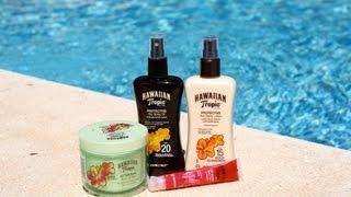 We love Hawaiian Tropic
