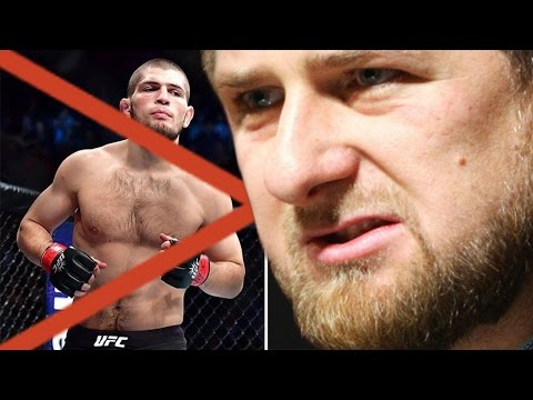 РАМЗАН КАДЫРОВ ОБ ОТМЕНЕ БОЯ ХАБИБА НУРМАГОМЕДОВА НА UFC 209 !