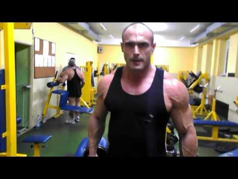 Jak swing mięśnie bez poziomego paska
