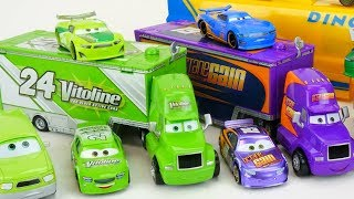 New Disney Cars 3 Hauler Thunder Hollow And Piston Cup Racers!