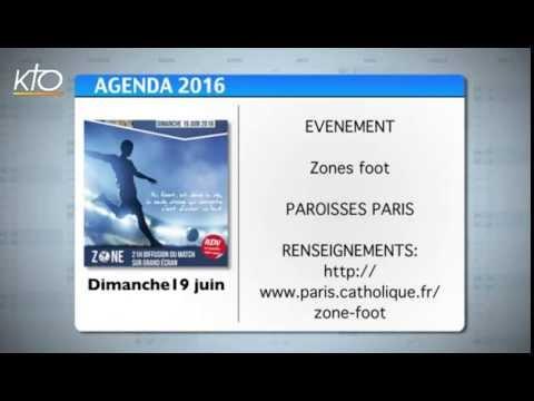 Agenda du 13 juin 2016