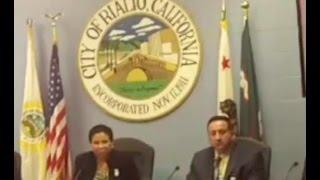 TRESSY CAPPS TALKS TOLL LANE SCAM AND SANBAG CORRUPTION AT RIALTO CITY COUNCIL.