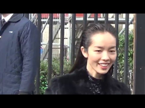 Top model Fei Fei Sun 孙菲菲 @ Paris 9 march 2016 Fashion Week show Miu Miu - mars