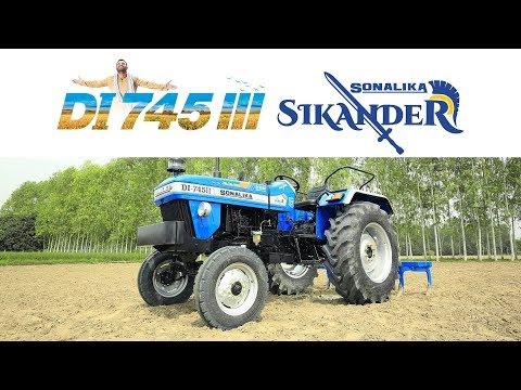 Sonalika DI 745 III Sikander, 50 hp Tractor, 1800 kg