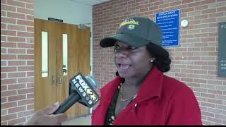 Harsh flooding leaves woman without home