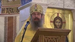 Неделя 1-я по Пятидесятнице, Всех святых. Проповедь архимандрита Мелхиседека.