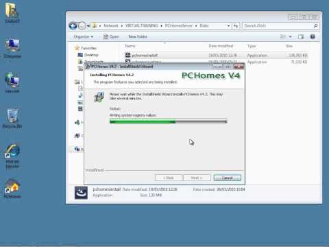 How to install PCHomes 4.2