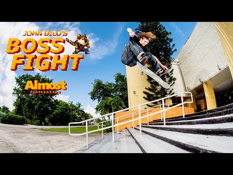 """preview image for Almost Presents John Dilo's """"Boss Fight"""" Part"""
