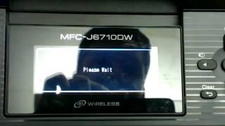 Setting static IP address on brother printer
