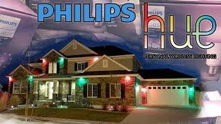 Philips Hue LED Bulbs - Wifi Christmas Lights!
