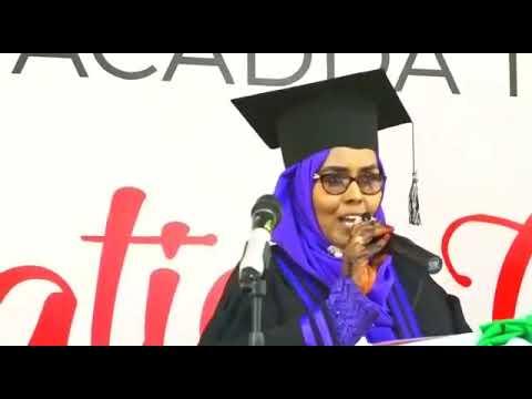 daawo xaflada qalin jabita jaamacada Tima-ade University