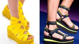 Модная обувь без каблука 2020
