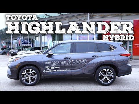 New Toyota Highlander Hybrid 2021 Review Interior Exterior