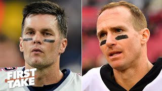 Tom Brady vs. Drew Brees: Which QB would you rather have? | First Take