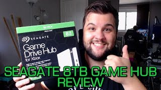 Seagate 8TB Game Drive Hub for Xbox Review and Impressions