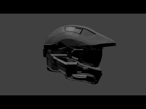 Halo 4 Helmet Full Size A by big_red_frog - Thingiverse