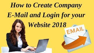 How to create company mail and login for your website 2018