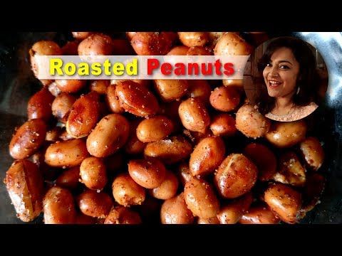 How to roast peanuts in a pan | Sand Roasted peanuts recipe by Deepti Tyagi