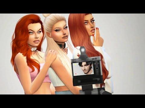THE CALIENTES | Sims 4 Townie Makeover - игровое видео смотреть