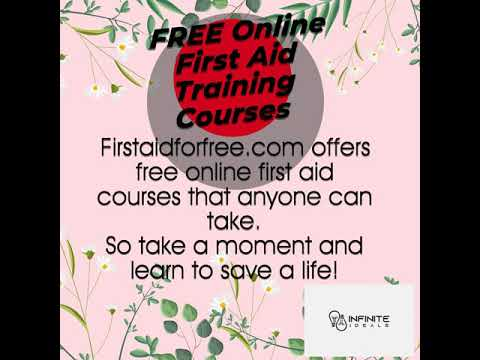 FREE Online First Aid Training Courses - YouTube