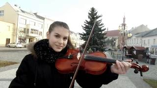 Johny Machette & Teri Blitzen - Vánoční Cover Song ( 1. ZŠ Holešov )