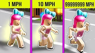 Roblox: SPRINTING 999,999,999 MILES PER HOUR!!!