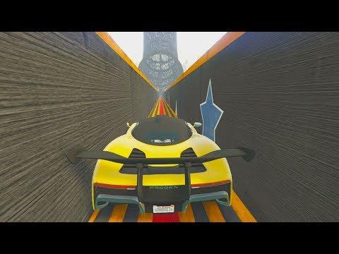 ¿DÓNDE LLEVA ESTE TUNEL? - CARRERA GTA V ONLINE - GTA 5 ONLINE