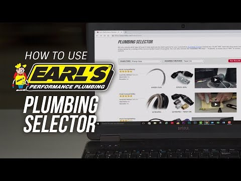 How To Use Earl's Performance Automotive Plumbing Selector