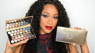 Makeup Revolution 'Fortune Favours The Brave' Eyeshadow Palette Review, Swatches & Testing!