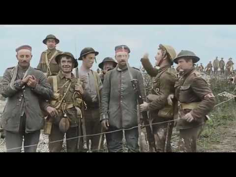 They Shall Not Grow Old - British troops thoughts on german soldiers.