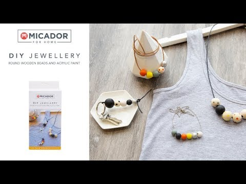 Micador For Home DIY Jewellery Kit Painted - Palm Springs