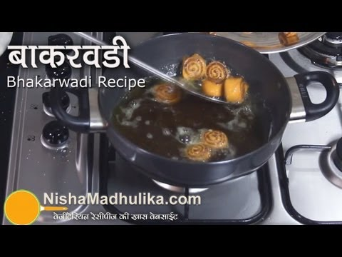 Bhakarwadi Recipe – Bhakarwadi recipe video