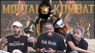 CRAZY Online FIGHTS! Kneecap Kicks, Kuntas & Fatalities - Mortal Kombat 11 Gameplay