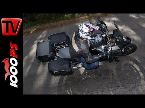 Koffersystem für Reiseenduros | SW-Motech Gepäcksystem, Zubehör