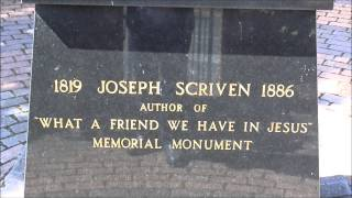 JOSEPH SCRIVEN writer of 'What a friend we have in Jesus' from Banbridge