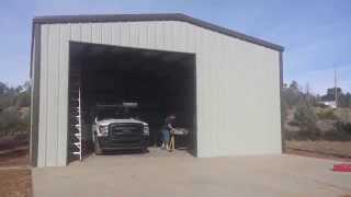 Steel Storage Building 30x40x12 Show Low, AZ